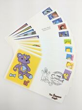 First Day Covers Stamps Disney Simpsons Humphrey Bogart Set of 10