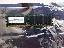INFINEON RAM 1GB HYS72D128521GR-7-B DDR 256 CL2 ECC PC2100 Server Dell 2600 2650