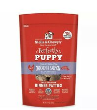 New listing Stella & Chewy's Perfectly Puppy Freeze-Dried Chicken and Salmon 14 oz.