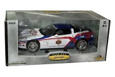 2006 CHEVY CORVETE Z06 LIMITED EDITION 1/24 GREENLIGHT DRIVER. LANCE ARMSTRONG