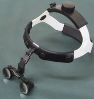 Gunsmith, professional binocular magnifier with headband.
