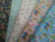 So Darling by Lewis & Irene, 100% Cotton, Patchwork, Fat Quarter, Bluebird, Fawn