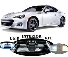LED Package - Interior + License Plate + Vanity for Subaru BRZ (8 pieces)