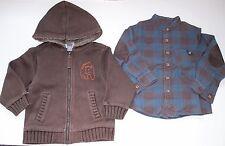 Lote niño: camisa manga larga y chaqueta. Talla 2-3 años. Zara, H&M