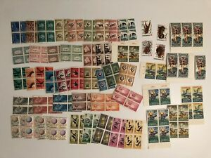 Indonesia - MNH stamps Incl Blocks of 4