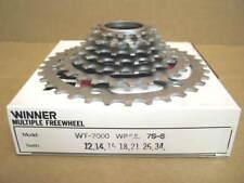 New-Old-Stock Suntour Winner Ultra 7-Speed Freewheel (12x34) w/Silver Finish