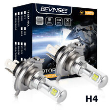 H4 9003 LED Headlight Bulbs For Yamaha WR250R XT250 2008-2017 Hi/Low Beam 80W