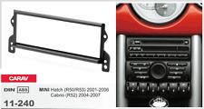 CARAV 11-240 1Din Marco Adaptador Kit Instalacion de Radio MINI Hatch, Cabrio