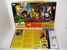 The SIMPSONS CLUE Game 2nd Ed Collectible Metal Weapons 100% Complete EXCELLENT!