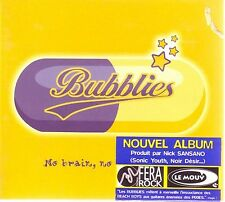 "BUBBLIES ""No head, no headache…"" (CD Digipack) 2001 NEW"