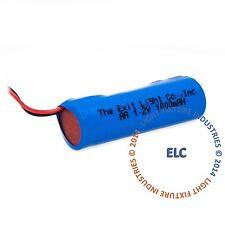 Emergency Light Exit Sign 2pk Battery 1.2V 1000mAh NiCd  BAA12