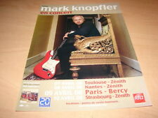 MARK KNOPFLER IN CONCERT!!!!!!!!!!!! PUBLICITE / ADVERT