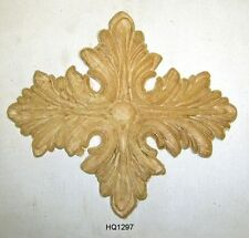 """WOOD EMBOSSED APPLIQUE 6 3/4""""X 7 1/2"""" EACH  HQ1297"""