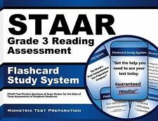 STAAR Grade 3 Reading Assessment Flashcard Study System: STAAR Test Practice Que