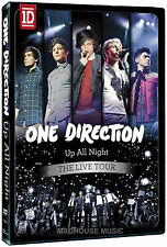 ONE DIRECTION DVD Up All Night - The Tour 2012 LIVE 70 Mins 3x PROMO Videos NEW