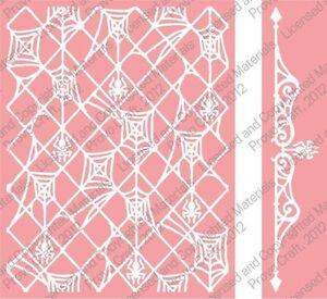 Cuttlebug A2 Embossing folder & Border - Spider Stew - 2001458