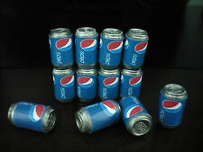 6 Pepsi Cans Dollhouse Miniatures Food Supply Deco
