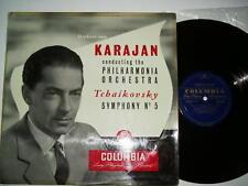 Tchaikovsky No 5 Von Karajan Columbia 33 CX 1133 1956