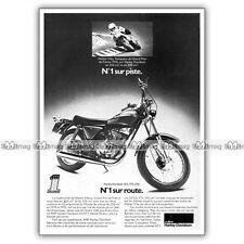 PUB HARLEY DAVIDSON SS 125 175 250 & WALTER VILLA - Ad / Publicité Moto de 1976