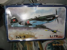 Smer Wwii Russian Jak-3 Fighter Plane-1/72 Scale-Free Shipping