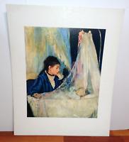 Vintage Berthe Morisot The Cradle 1960s Lithograph Shorewood Publishers Print