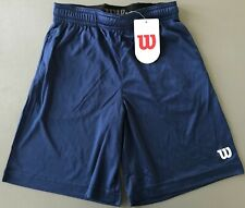Wilson Sports Athletic Gym Shorts Boy's L Navy NEW WITH TAGS - FREE SHIPPING
