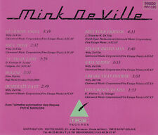 Mink DE VILLE-CD-Return to Magenta