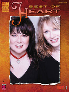 HEART GUITAR TABLATURE / ***BRAND NEW*** / HEART GUITAR TAB SONGBOOK