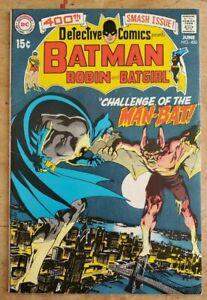 Detective Comics #400 VF-VF+ Beautiful High Grade Key Neal Adams 1st Manbat!