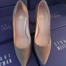 Stuart Weitzman shoes size 10.5 Topo Goose Bump Napa