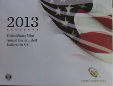 2013 United States Mint Annual Uncirculated Dollar Coin Set