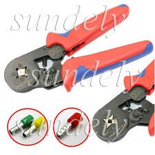 Mini Ratchet Crimper Plier Crimping Tool Kit Cable Wire Electrical Terminals