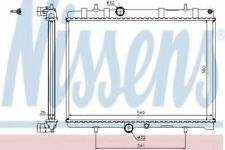 63606A Nissens Radiator engine cooling Replace 63606A1330F5,1330J7,1330S5,1330S8