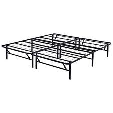 King Size Bed Frame 14 Inch Mattress Foundation Heavy Duty Metal Steel