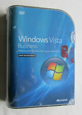 * NEU * Microsoft Windows Vista Business 32 Bit Version Full Retail UK 66J-06359