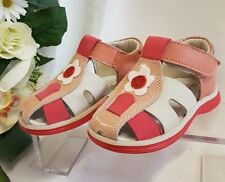 Sandales beiges en cuir pour fille de 2 à 16 ans