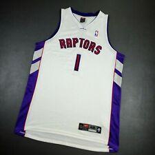 100% Authentic Tracy Mcgrady Vintage Nike Raptors Jersey 48 XL - vince carter