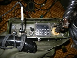 Radio Military Phillips PRC2000 in webbing carrier