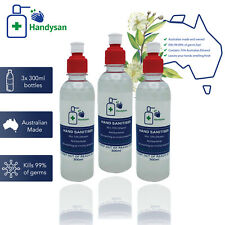 3 x 300mL Handysan hand sanitiser! sanitizer! Australian Made! 70% ethanol!