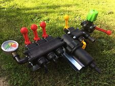 Brand New Crop Sprayer 3 Section Type On Off Lever Pressure Control Valve Unit