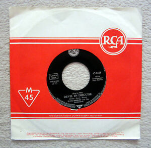 Single / ELVIS PRESLEY / DEVIL IN DISGUISE  / 47-8188 / RCA / RARITÄT /