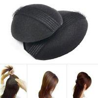 2 pcs Hair Volume Increase Puff Sponge Pad Bump Up Insert Base DIY Updo S GEE