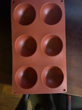 New listing Lekue Silicone 6 Cavity Muffin Baking Mold