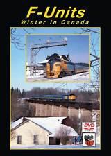 F-Units Winter in Canada DVD NEW Greg Scholl VIA Rail CP CN FP9 FPA-4 F7