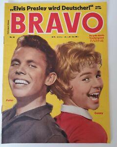Bravo 44 vom 28.10.1958 Peter & Conny /  Elvis Presley / Audrey Hepburn (B1650)