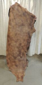 4-5 oz. Veg Tan Buffalo Leather Hide for Sheaths Belts Wallets Holsters Quivers