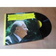 WILHELM KEMPFF sonate pour piano - scherzo en si bemol FRANZ SCHUBERT DGG Lp
