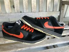 2008 Nike Dunk Low US size 7/7Y HALLOWEEN mischief day of the dead jason freddy