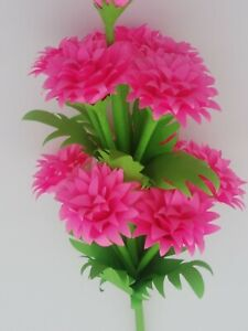 handmade flower decor paper flower decor for flower vase or hand over to a girl