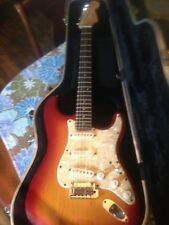 Fender American deluxe stratocaster with s1 switch